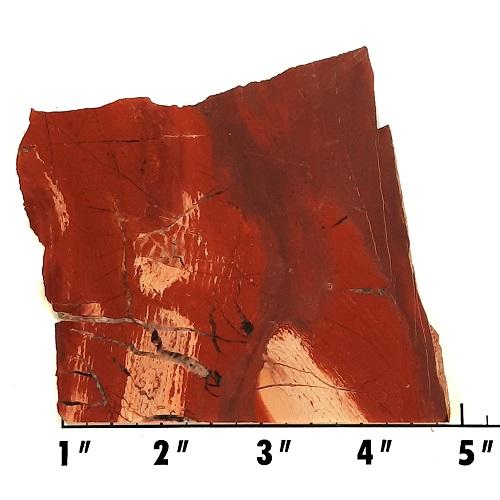 slab188 - Red Snakeskin Jasper Slab