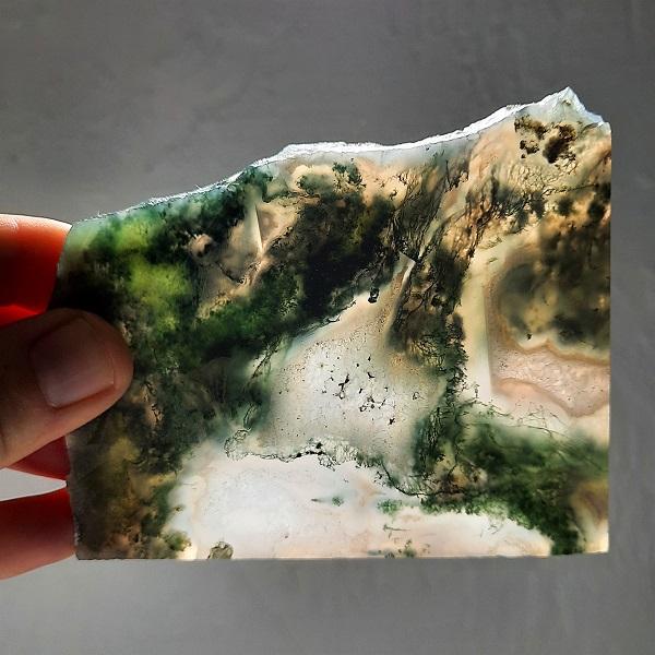 Slab24 - Green Moss Agate slabs