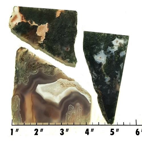 Slab27 - Green Moss Agate slabs