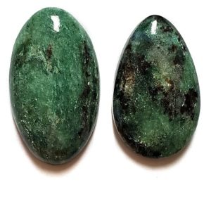 Fuchsite Cabochons from Russia