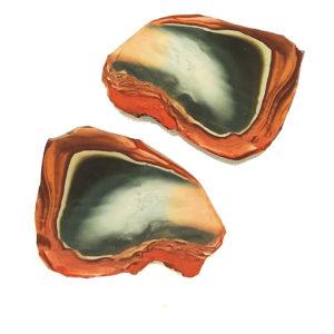 Polychrome Jasper Slabs from Madagascar