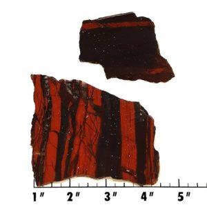 Slab1650 - Red Jasper Hematite slabs