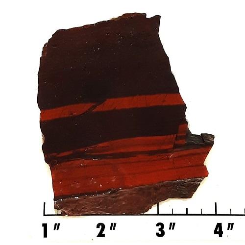 Slab1659 - Red Jasper Hematite slab