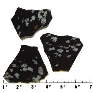 Slab1724 - Snowflake Obsidian Slabs