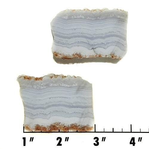 Slab1622 - Blue Lace Agate slabs