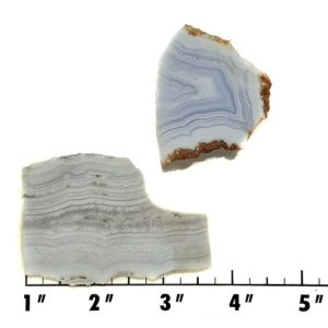 Slab1631 - Blue Lace Agate slabs