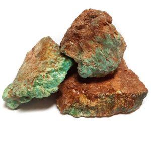 Stabilized Battle Mountain Turquoise Rough - Medium Size - $300.00/lb. (~$0.66/gram)