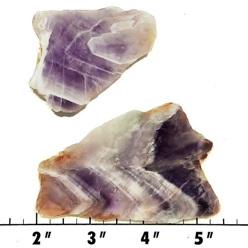 Slab1823 - Chevron Amethyst Slabs