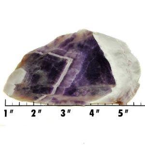 Slab1803 - Chevron Amethyst Slab