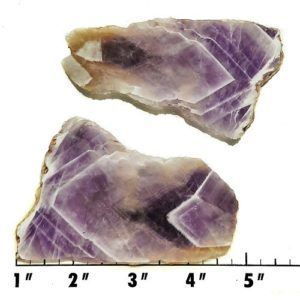 Slab1813 - Chevron Amethyst Slabs