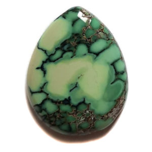 Cab1879 - Natural Peacock Turquoise Cabochon