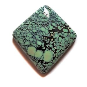 Cab1897 - Natural Peacock Turquoise Cabochon