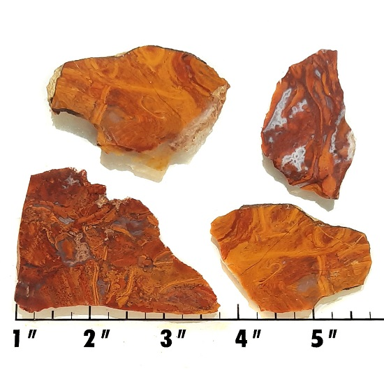 Slab140 - Rooster Tail Agate slabs