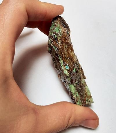 Baja Stabilized Turquoise Rough #11
