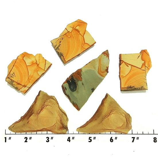 Slab1703 - Owyhee Jasper slabs