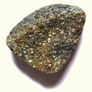 Cab2116 - Rainbow Pyrite Cabochon