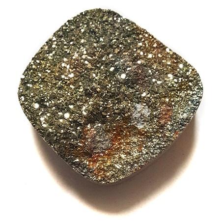 Cab2140 - Rainbow Pyrite Cabochon