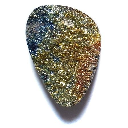 Cab2152 - Rainbow Pyrite Cabochon