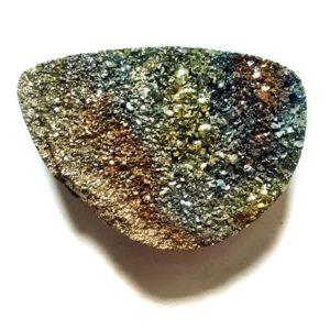 Cab2153 - Rainbow Pyrite Cabochon