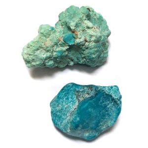 Nacozari Enhanced Turquoise Rough #28