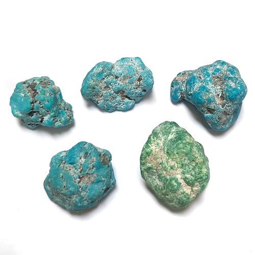 Nacozari Enhanced Turquoise #2 Quality Rough #48