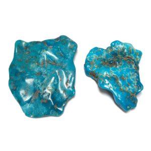 Nacozari Polished Turquoise Flats #10
