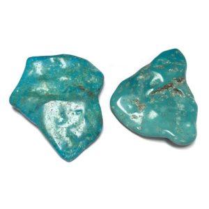 Nacozari Polished Turquoise Flats #12