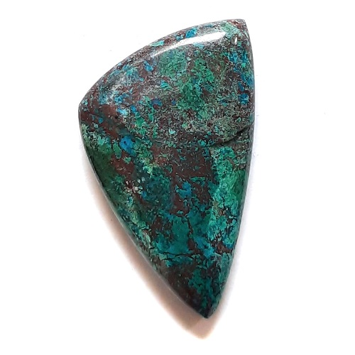 Cab13 - Parrot Wing Chrysocolla Cabochon