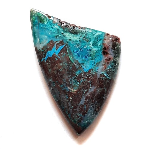 Cab182 - Parrot Wing Chrysocolla Cabochon