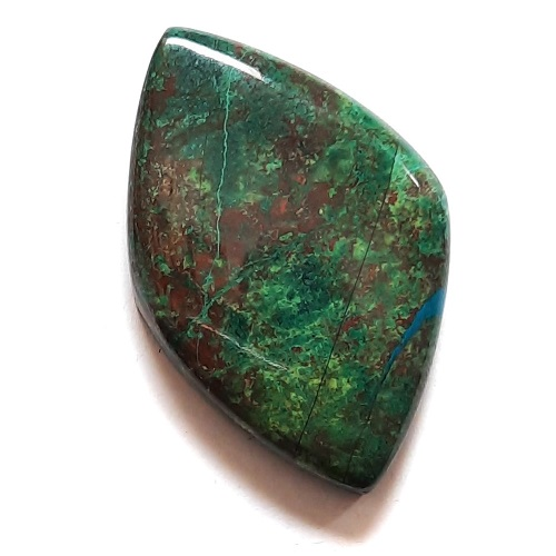Cab191 - Parrot Wing Chrysocolla Cabochon
