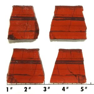 Slab2052 - Red Jasper Hematite slabs