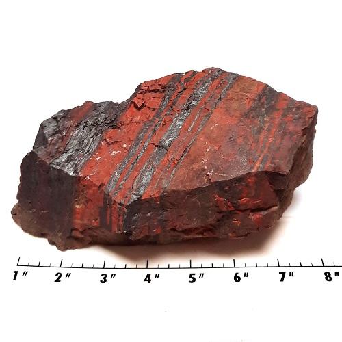 Red Jasper with Hematite 2