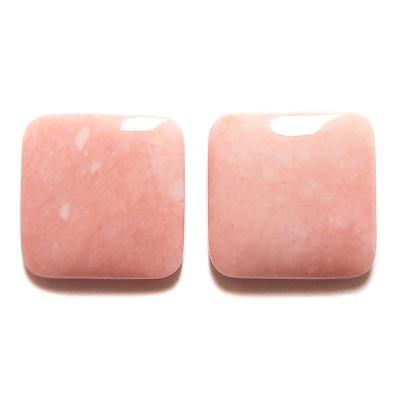 Cab502 - Pink Opal Cabochon Pair