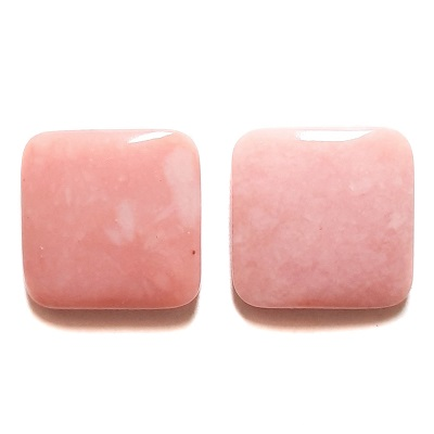 Cab519 - Pink Opal Cabochon Pair