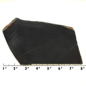 Slab572 - Black Nephrite Jade Slab
