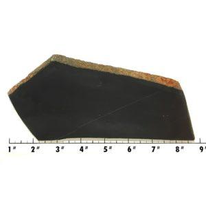 Slab574 - Black Nephrite Jade Slab
