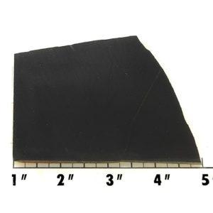Slab551 - Black Nephrite Jade Slab