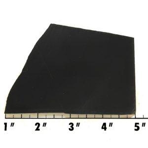 Slab553 - Black Nephrite Jade Slab