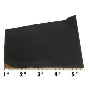 Slab555 - Black Nephrite Jade Slab