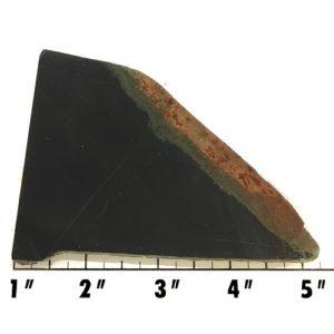 Slab557 - Black Nephrite Jade Slab
