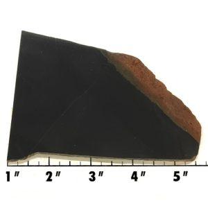 Slab558 - Black Nephrite Jade Slab