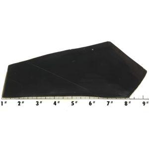 Slab562 - Black Nephrite Jade Slab