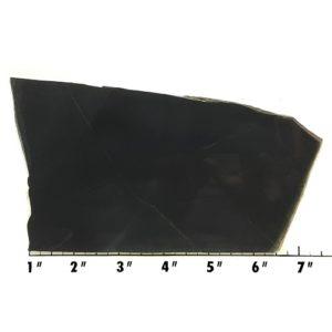 Slab566 - Black Nephrite Jade Slab