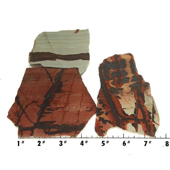 Slab400 - Indian Paint Rock Slabs