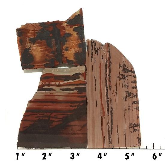 Slab385 - Indian Paint Rock Slabs