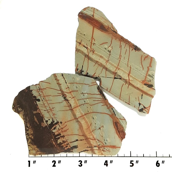 Slab394 - Indian Paint Rock Slabs