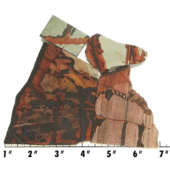 Slab399 - Indian Paint Rock Slabs