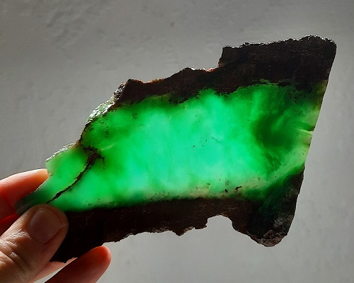 Slab429 - Chrysoprase Slab