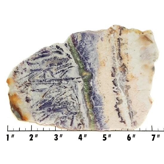 Slab339 - Sagenitic Fluorite Slab