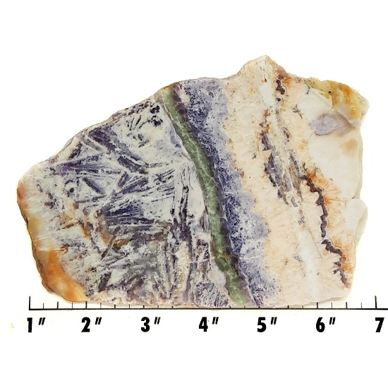 Slab33 - Sagenitic Fluorite Slab